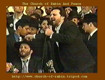Benny Elbaz sings to Rabbi Arye Deri: Hu zakai, Huuuuuuuuuuuu Zakaaaaaaaaaaaaaaai