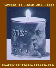 A genuine Rabin candle